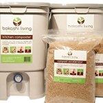 2-bin-Bokashi-Composting-Starter-Kit-includes-2-bokashi-bins-35lbs-of-bokashi-and-full-instructions-0