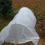 30FT-Long-Agfabric-Hoop-House-Kit-Mini-Greenhouse-Grow-Tunnel-kits-09oz-Row-Cover-And-Heavy-duty-Double-Hoops-0-0