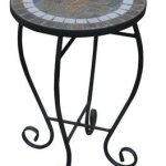 Ace-Trading-L-ps525pwi-Round-Slate-Plant-Stand-with-Folding-Base-0