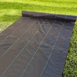 Agfabric-Ground-Cover-29ounce-6ft-x-100ft-PP-Woven-Weed-BarrierPlastic-Mulch-Weed-Block-0