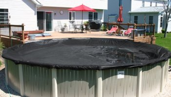 Deluxe Round Above Ground Swimming Pool Winter Covers 10 Year