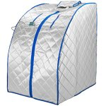 Durasage-XLarge-Infrared-IR-FAR-Portable-Indoor-Personal-SPA-Sauna-with-Heating-Food-Pad-and-Chair-0-0