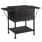 Giantex-Portable-Rattan-Cooler-Cart-Trolley-Outdoor-Patio-Pool-Party-Ice-Drinks-Brown-0-1