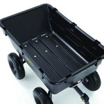 Gorilla-Carts-GOR6PS-Heavy-Duty-Poly-Yard-Dump-Cart-with-2-In-1-Convertible-Handle-1200-Pound-Capacity-Black-0-0