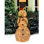Holiday-Time-48-Sparking-Burlap-Snowman-with-Black-Hat-Light-Sculpture-0