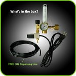 Hydroponics-Co2-Regulator-Emitter-System-with-Solenoid-Valve-Accurate-and-Easy-to-Adjust-Flow-Meter-Made-of-High-Quality-Brass-Shorten-up-and-Double-Your-Time-for-Harvesting-0-0