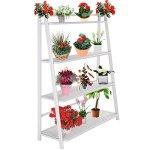 NEW-Heavy-Duty-Mesh-Plant-Flower-Stand-Shelves-Pot-Display-Holder-Garden-0