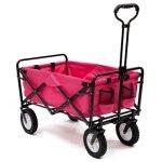 Pink-Mac-Sports-Collapsible-Folding-Utility-Wagon-Garden-Cart-Shopping-Beach-0