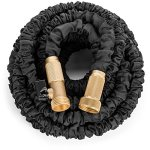 Premium-100-Expandable-Hose-Best-Expanding-Garden-Hose-on-the-Market-Solid-Brass-Fittings-Double-Latex-Core-Heavy-Duty-Fabric-34-Includes-FREE-Sprayer-Nozzle-and-2-Way-Splitter-0-0