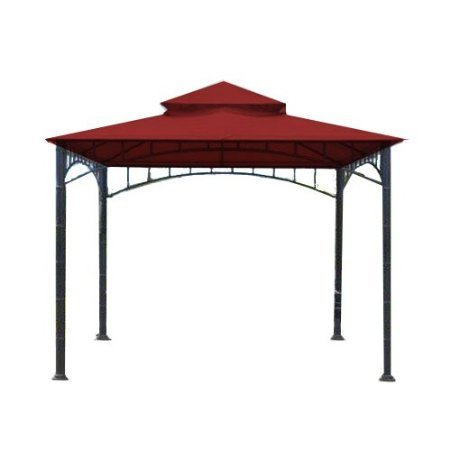 Replacement Canopy for Target Madaga Gazebo - RipLock 350 - CINNABAR  sc 1 st  Farm u0026 Garden Superstore & Thresholdâu201e¢ Madaga 10u2032 x 10u2032 Replacement Gazebo Canopy u2013 Olive ...