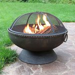 Sunnydaze-30-Inch-Firebowl-Fire-Pit-with-Handles-and-Spark-Screen-0-0