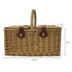 Zelancio-4-Person-Square-Picnic-Basket-Set-With-Insulated-Cooler-Insert-Large-Service-for-Four-0-0
