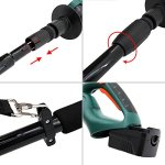 DOEWORKS-Case-of-50-20V-Li-ion-2-in-1-Multi-Angle-Battery-Trimmer-Cordless-Electric-Pole-Hedge-Trimmer-with-20-Blades-Battery-Charger-Included-0-0