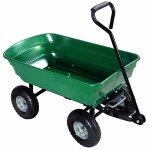 650LB-Garden-Dump-Cart-Dumper-Wagon-Carrier-Wheel-Barrow-Air-Tires-Heavy-Duty-0-5