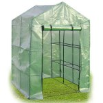 8-Shelves-Greenhouse-Portable-Mini-Walk-In-Outdoor-Green-House-2-Tier-New-0-2