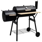 AyaMastro-455-BBQ-Grill-Charcoal-Barbecue-Pit-Patio-Backyard-Meat-Cooker-Smoker-Outdoor-wSide-Shelve-0