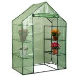 COSTWAY-Portable-Greenhouse-8-Shelves-Mini-Walk-in-Outdoor-Green-House-4-Tier-PE-Cover-for-Garden-Patio-Backyard-Only-by-eight24hours-Organic-Natural-Silk-Cocoons-0-2
