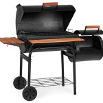 Char-Griller-1224-Smokin-Pro-830-Square-Inch-Charcoal-Grill-with-Side-Fire-Box-0-0