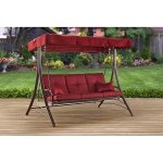 Dark-Red-Callimont-Park-3-Seat-Cushion-Porch-Patio-Swing-0