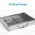 Deerbird-Folding-Barbecue-Grill-Portable-Thickened-Outdoor-Stainless-Steel-Charcoal-Picnic-BBQ-Grill-for-Family-Camping-Party-Small-0-0