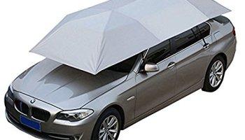 Car Tent Semi Automatic Folded Portable Automobile