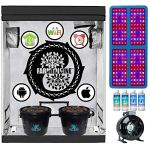 Farmedicine-Smart-8-Site-Hydroponic-2–4–6-Indoor-Ventilated-Greenhouse-2000W-LED-Grow-Kit-0