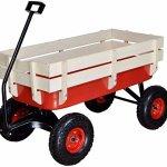 GHP-Kids-All-Terrain-Outdoor-Wagon-Pulling-w-Wood-Railing-Air-Tires-35l-X-17w-X-20h-0