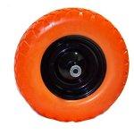 GHP-Set-of-2-16x4x8-Light-Weight-Flat-Free-Foamed-Polyurethane-Wheelbarrow-Tire-0-0