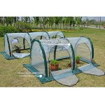 Garden-Plant-Tent-FOME-PE-Plant-Tunnel-Waterproof-Durable-Cloche-Greenhouse-for-Plants-Outdoor-Portable-Greenhouses-with-Two-Zipper-Doors-Backyard-Flower-Shelter-788x394x394-inch-0-2