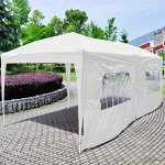 Giantex-10×20-Ez-POP-up-Wedding-Party-Tent-Folding-Gazebo-Beach-Canopy-Wcarry-Bag-White-0-0