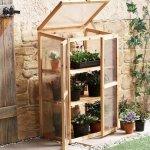 Leisure-Season-Mini-Greenhouse-Solid-Wood-Decay-Resistant-0-2