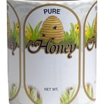 Mann-Lake-250-Count-Golden-Honeybee-Skep-Oval-Label-Large-0