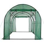 Ogrow-OG17778-PEG-15-x-6-x-6-2-Door-Walk-In-Tunnel-Greenhouse-Green-0-0