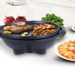 PROSPERLY-USProduct-Electric-BBQ-Grill-1350W-Non-stick-4-Temperature-Setting-Outdoor-Garden-Camping-0