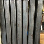 Paris-Style-Iron-Wrought-Steel-Fence-43H-X-5-W-Quality-Ornamental-Fence-0-0