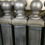 Paris-Style-Iron-Wrought-Steel-Fence-43H-X-5-W-Quality-Ornamental-Fence-0-1