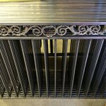 Paris-Style-Iron-Wrought-Steel-Fence-43H-X-5-W-Quality-Ornamental-Fence-0