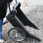 Polar-Trailer-8376-Utility-Cart-60-x-27-x-32-Inch-400-Lbs-Load-Capacity-10-Cubic-Feet-Tub-Spoked-Wheel-Tires-Rugged-Hauling-Design-Black-0-2