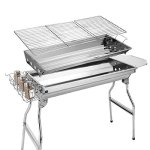 Popowbe-Portable-charcoal-grill-independent-carbon-groove-stainless-steel-barbecue-stove-thickened-household-charcoal-barbecue-rack-outdoor-complete-set-of-5-or-more-barbecues-0-1