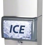 Scotsman-C0830MW-32AID250BKBT44-924-Lb-Water-Cooled-Medium-Cube-Ice-Machine-w-Ice-Dispenser-0