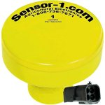 Sensor-1-DS-GPSM-JDT1-YEL-1-Hz-GPS-Speed-Sensor-Yellow-Housing-with-4-Pin-Weather-Pack-Tower-Connector-0