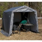 ShelterLogic-11-x-8-x-10-ft-Peak-Frame-Storage-Shed-0