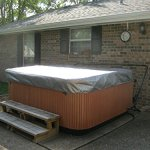 Spa-Hot-Tub-Cover-Cap-SunShield-78-x-78-Viking-LBI-Hotspring-Protector-Video-0