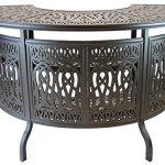 Theworldofpatio-Elizabeth-Cast-Aluminum-Powder-Coated-5pc-Party-Bar-Set-with-Party-Bar-Table-Antique-Bronze-0-2