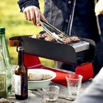 UNA-GRILL-Portable-Outdoor-Charcoal-Grill-Graphite-GrayJapan-Domestic-genuine-products-Ships-from-JAPAN-0-0