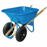 WESTWARD-Wheelbarrow-Steel-6-cu-ft-2-Pneumatic-0