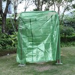 Walk-In-Greenhouse-Cover-Plastic-Replacement-Garden-Cover-2-Tier-8-Shelf-Portable-Green-House-Plant-Cover-Lawn-PECover-only-no-iron-stand-no-flower-pot-0-1