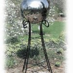 10-Inch-Silver-Stainless-Steel-Gazing-Globe-0-0