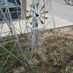 4-Ft-Premium-Aluminum-Decorative-Garden-Windmill-Green-Trim-0-1