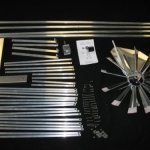 6-Ft-Premium-Aluminum-Decorative-Garden-Windmill-Green-Trim-0-0